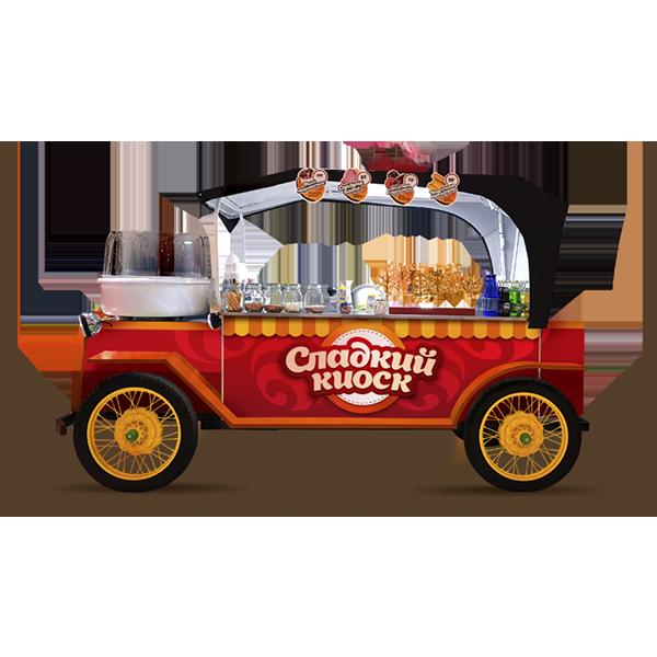 аренда киоска сладостей на праздник в москве